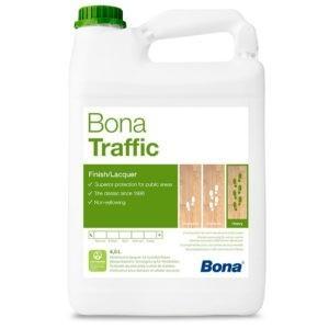 Bona Traffic полумат. 2K лак с особо высокой нагрузкой (4,95л.)