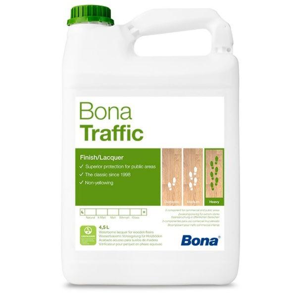 Bona Traffic матовый 2K лак с особо высокой нагрузкой (4,95л.)
