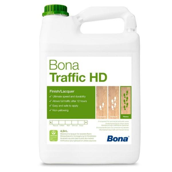 Bona Traffic HD экстраматовый лак с экстремальной нагрузкой(4,95л.)