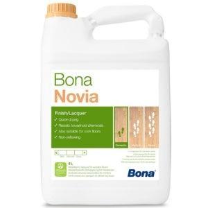 Bona Novia матовый лак для средней нагрузки (1л./5л./10л.)