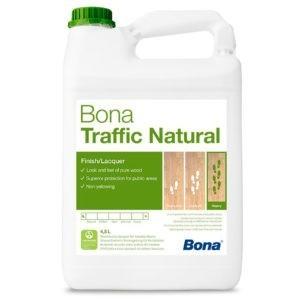 Bona Traffic Natural лак с невидимым слоем (4,95л.)