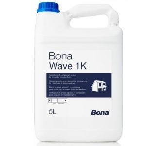Bona Wave 1K полумат. лак для средней нагрузки (4,95 л.)