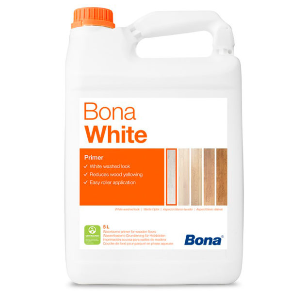 Bona White грунт придаёт белый оттенок (5л.)