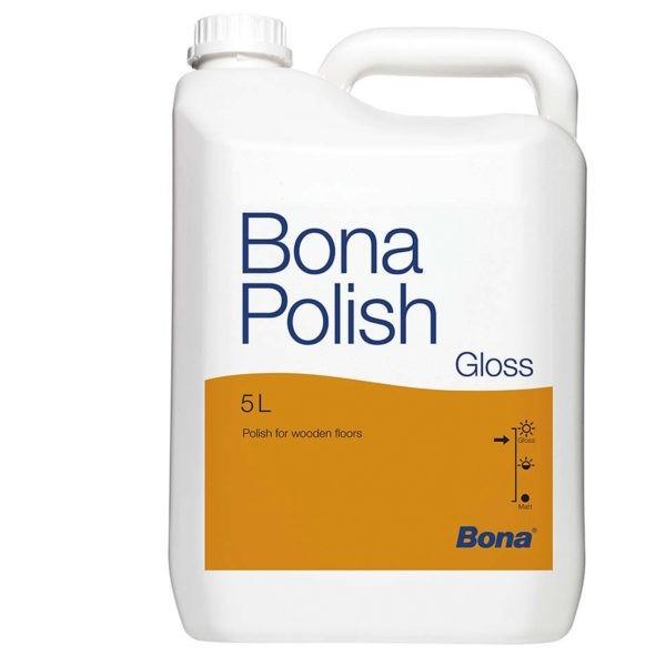 Bona Polish глянц. защита и уход лакированных покрытий(1л./5л.)