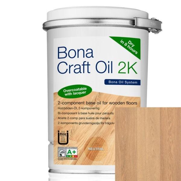 Bona Craft Oil 2K Light Grey