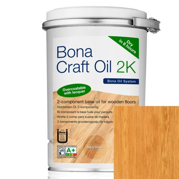 Bona Craft Oil 2K Invisible