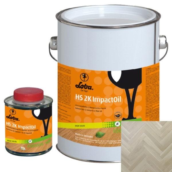 Loba HS 2K ImpactOil Color 2К масло Пёрл (Pearl) (0,75л.)