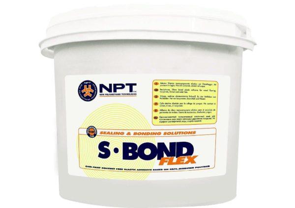 NPT S-Bond Flex высокоэластичный клей (14 кг.)